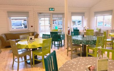 Cafe ready to welcome customers after refurbishment