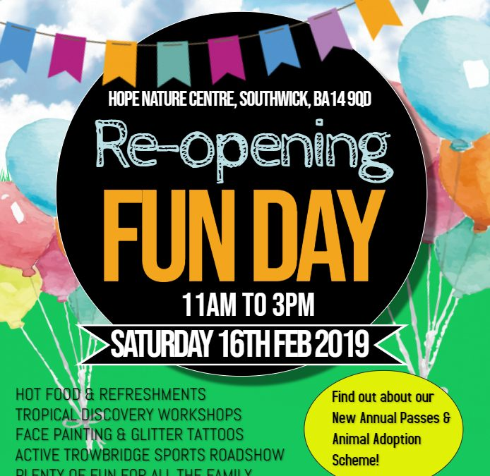 Re-opening Fun Day – 16th February 2019