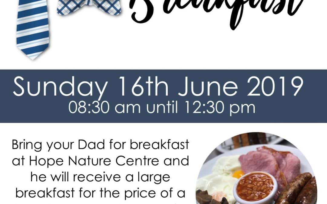 FULLY BOOKED: Father's Day Breakfast