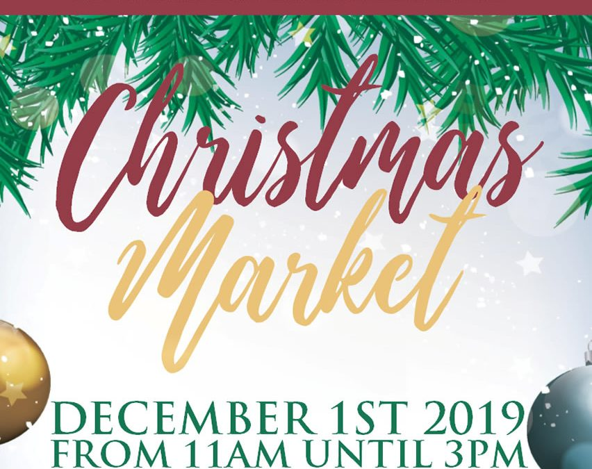 Stall holders wanted for our Christmas Market!