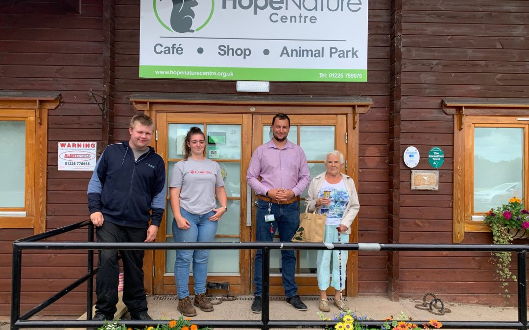 Thank You from the Hope Nature Centre Team